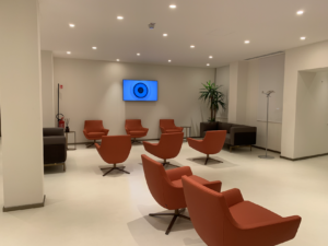 Universo Salute piano 2 sala d'attesa